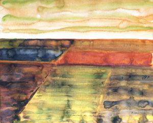 das land der stinkmorcheln-1983-Aquarell-25x20cm